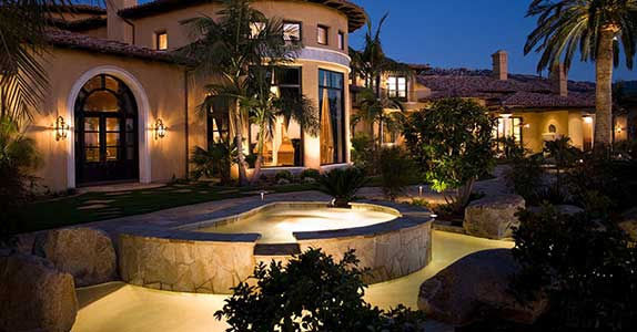Landscape lighting designs illuminating outdoor experience lightscape designs is a leading landscape design lighting firm in san diego helping hundreds of area homeowners businesses and hoas solve their lighting workwithnaturefo